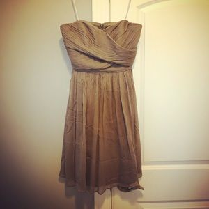 Never worn J Crew Grey Party Dress